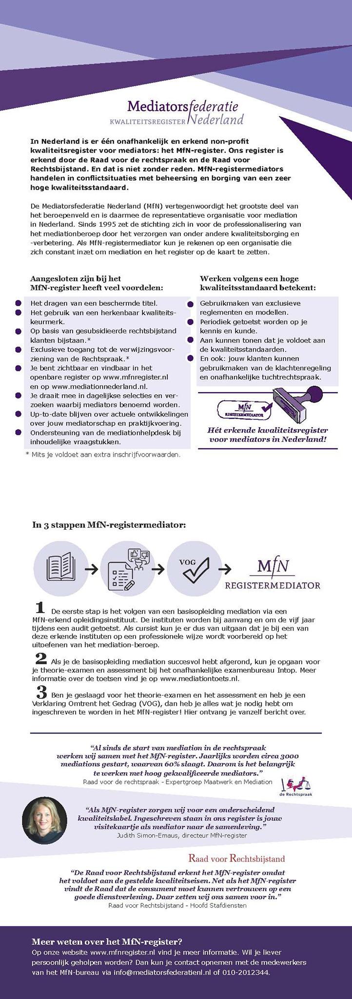 MfN flyer